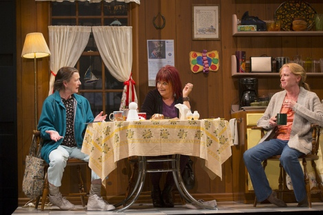 A scene from ''Good People'' at the Huntington Theatre Company in Boston