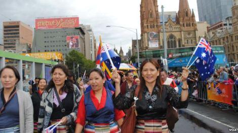 Tibet Australia Day