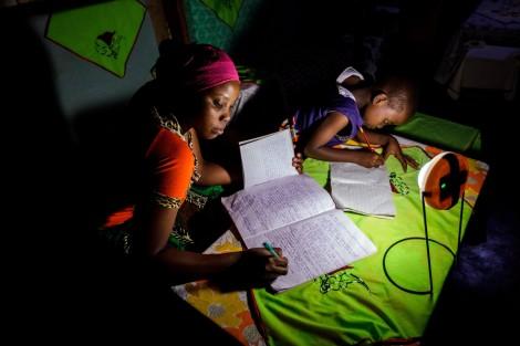 Solar lamp Africa